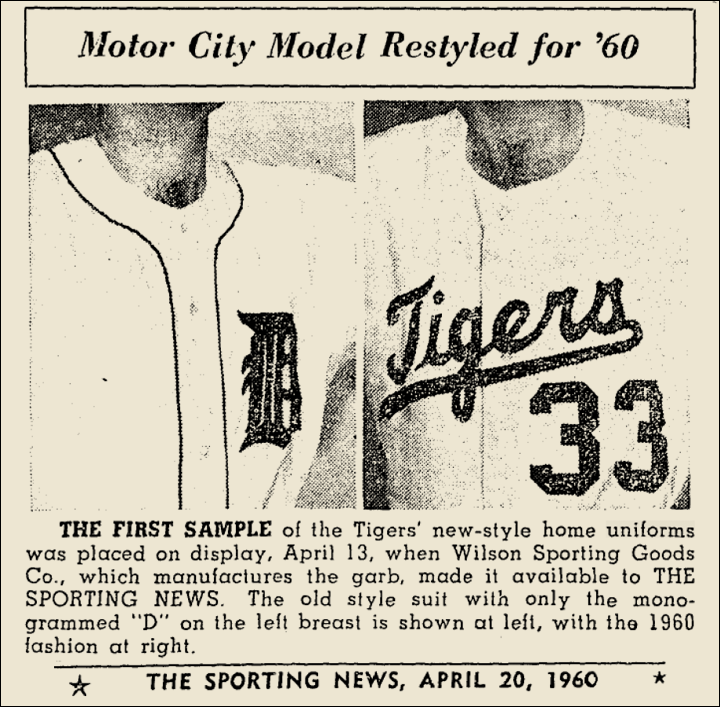1960 TIGERS ARTICLE