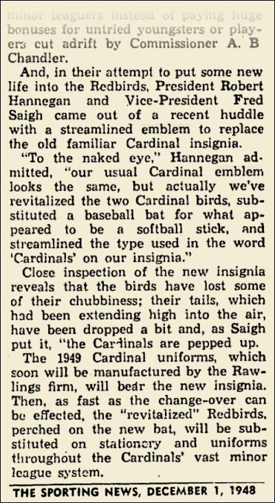 1949 CARDINALS