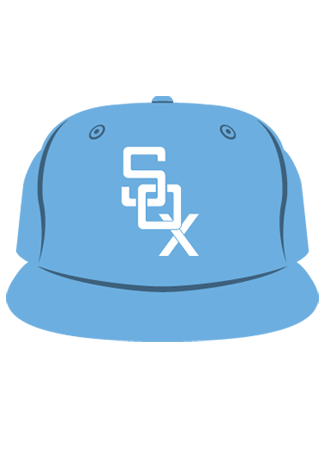 POWDER-BLUE-SOX-CAP