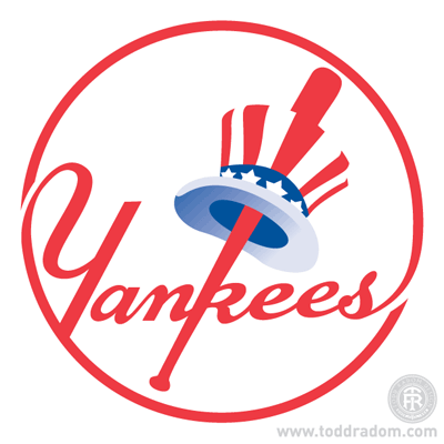 The Yankees  Top Hat Emblem and the Three Logos of 1946. — Todd ... afebafb79e54