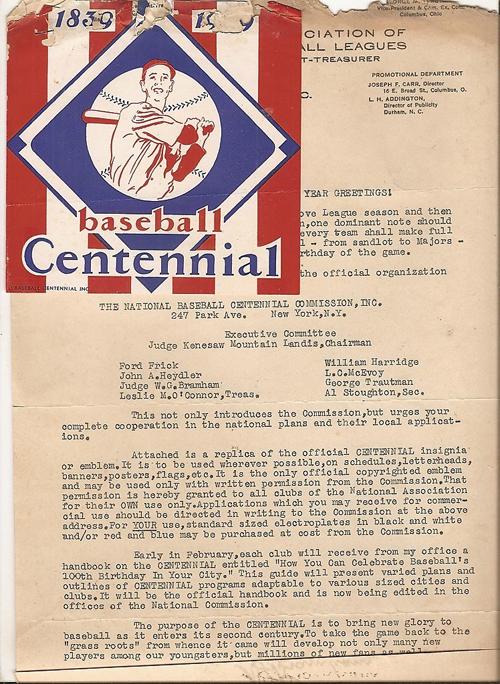 1939 BASEBALL CENTENNIAL LOGO 01