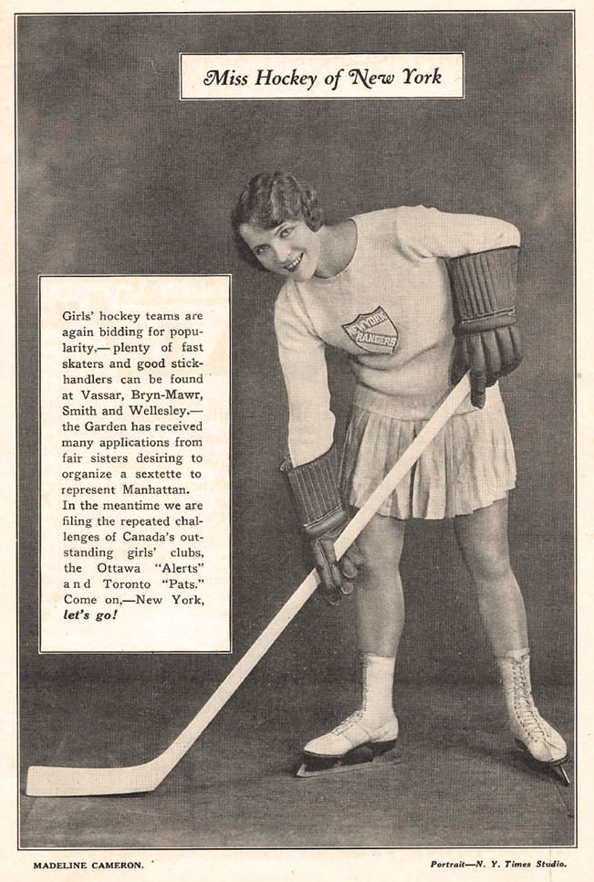 1928 MISS HOCKEY