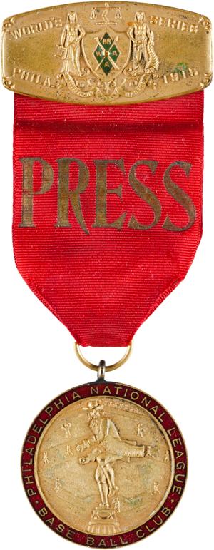 1915 PHILLIES PRESS PIN