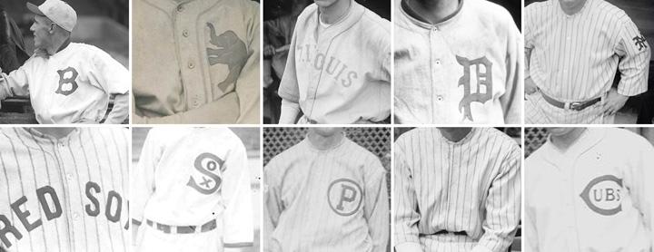 1922 MLB UNIFORMS