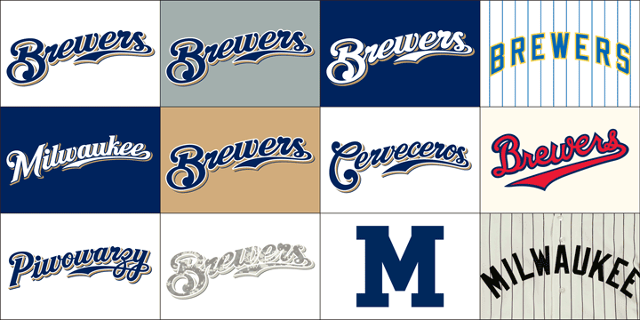 info for 81539 72a61 The Many Uniforms of the 2013 Brewers — Todd Radom Design