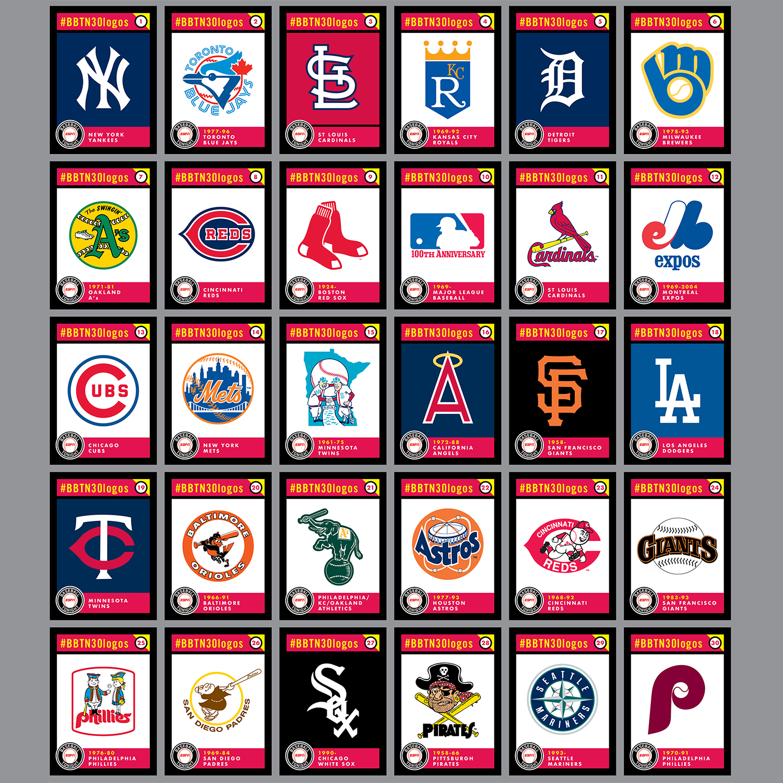 ESPN Baseball Tonight Podcast s Top 30 All-Time MLB Logos — Todd Radom  Design 1cbaffb251ab