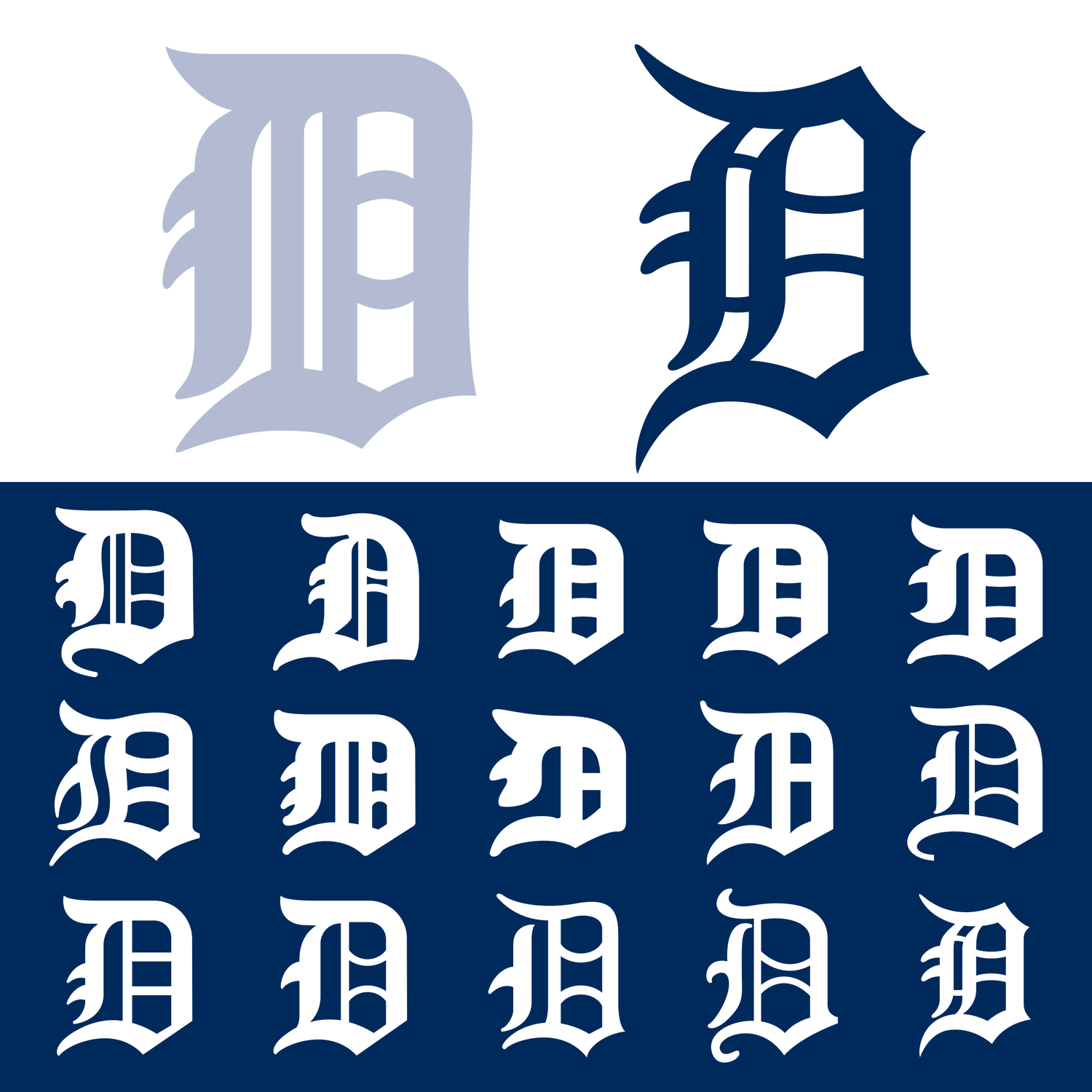 the detroit tigers old english ds finally match todd radom design