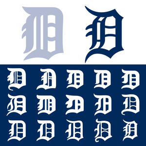 33a5a5ce The Detroit Tigers' Old English