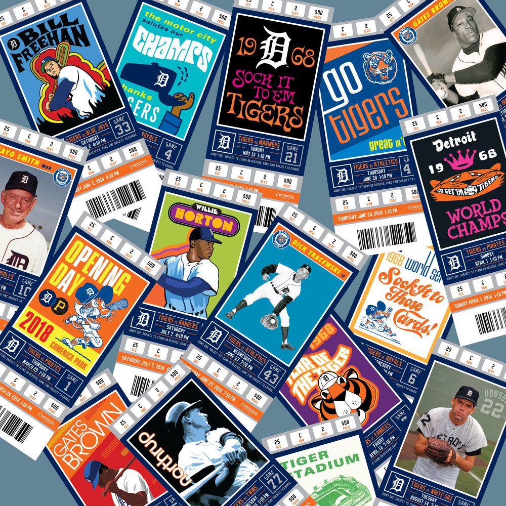 2018 Detroit Tigers Season Tickets -