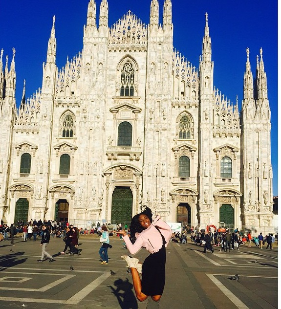 Milan, Italy | 2015 | 20 years old  The Duomo di Milan, which translate to the Milan Cathedral, was BEAUTIFUL!