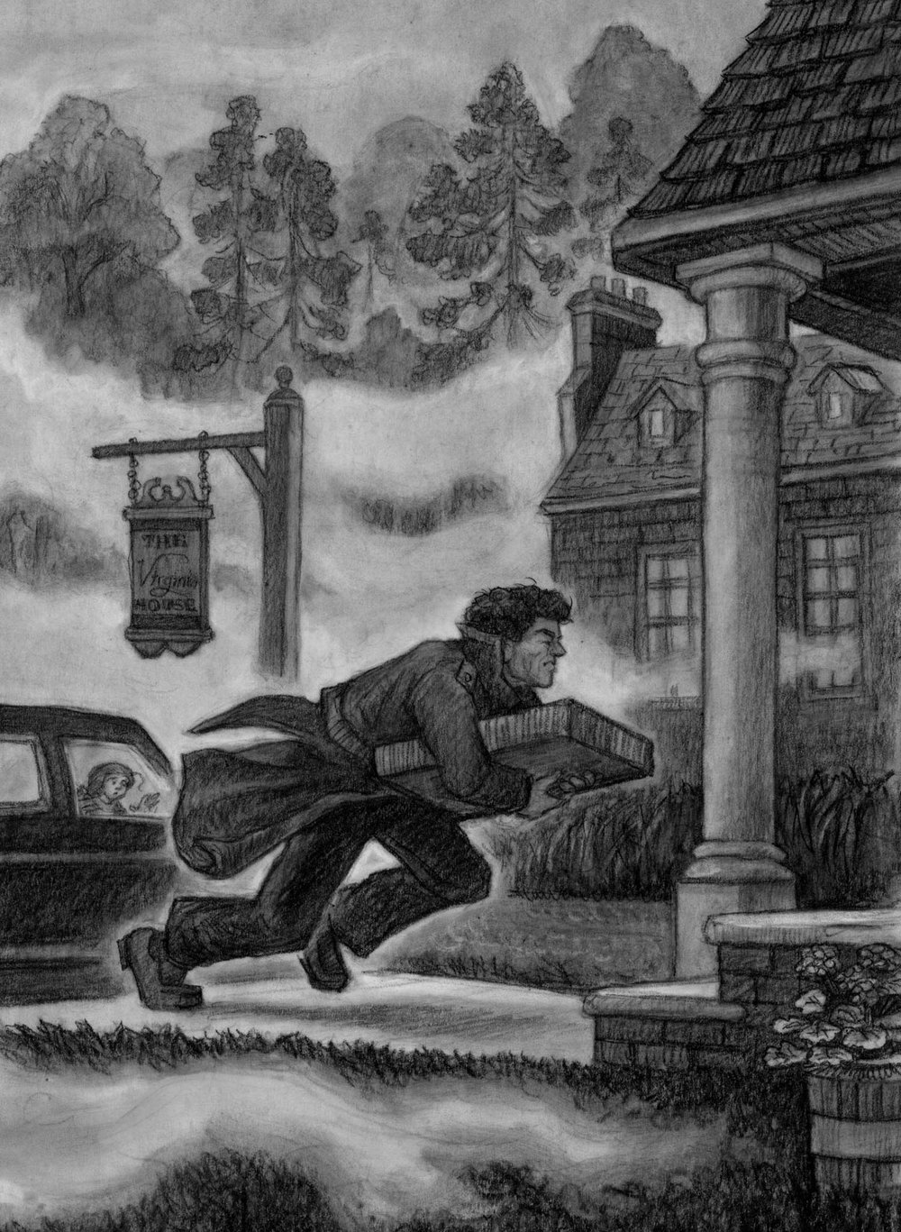 The Secret at Jefferson's Mansion  Random House, 2009; from the  Capital Mysteries  series by Ron Roy