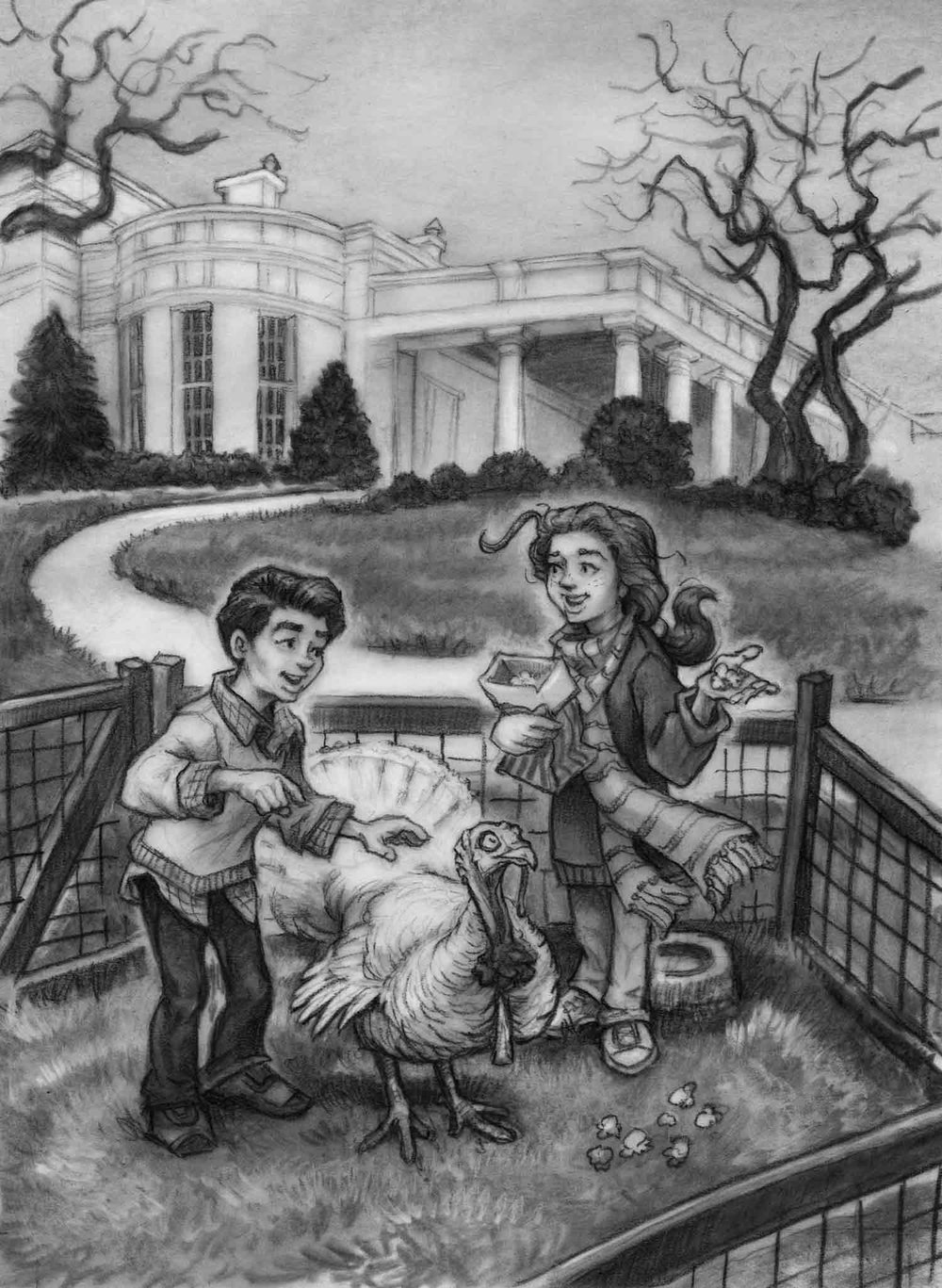 Turkey Trouble on the National Mall  Random House, 2012; from the  Capital Mysteries  series by Ron Roy