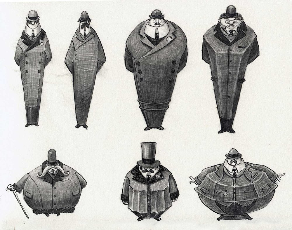Costume sketches , 2009