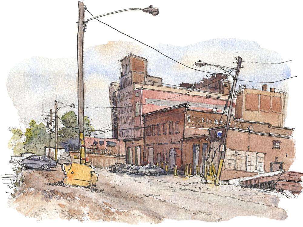 Cleveland street,  Sketchbook , 2011