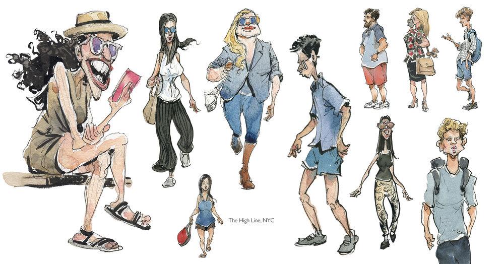 Sketchbook , 2014-17