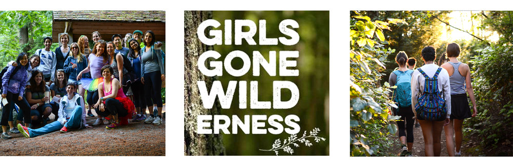 Girls Gone Wilderness hike. Photos (right/left) by Gina Hopper