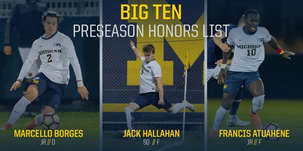 Preseason Honors (PC, mgoblue.com)