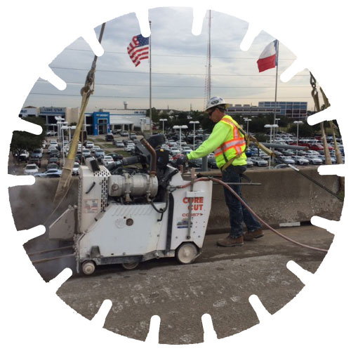 Diesel & Electric Slab Sawing - Our slab saws can cut up to 36 inches in depth.
