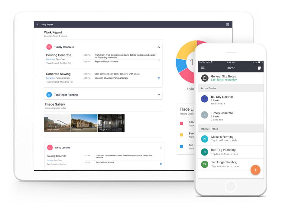170901 iPad iPhone Harbr Daily Reporting App.jpg