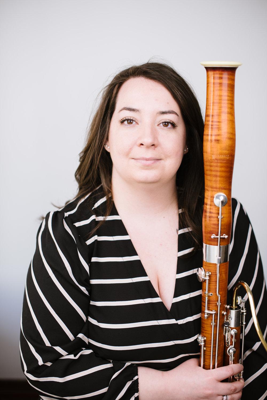 Sara Fruehe, Bassoon -