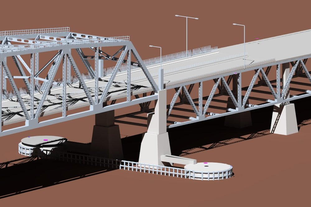 Bridge Information Modeling (BrIM) for Various Projects