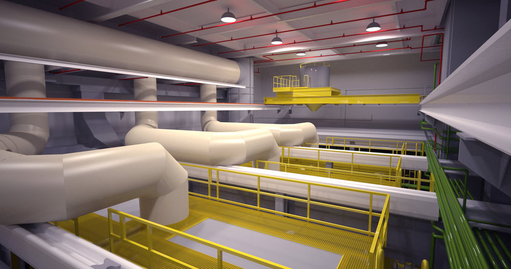 BIM and LiDAR for Wastewater Treatment Plants and Pump Stations