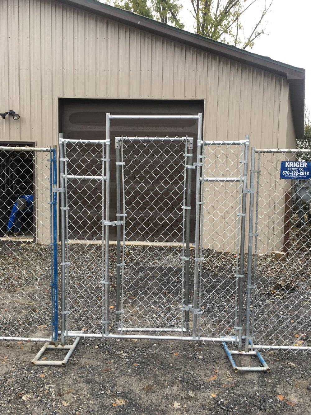 Temporary Fence Panels — Kriger Fence Company Inc.