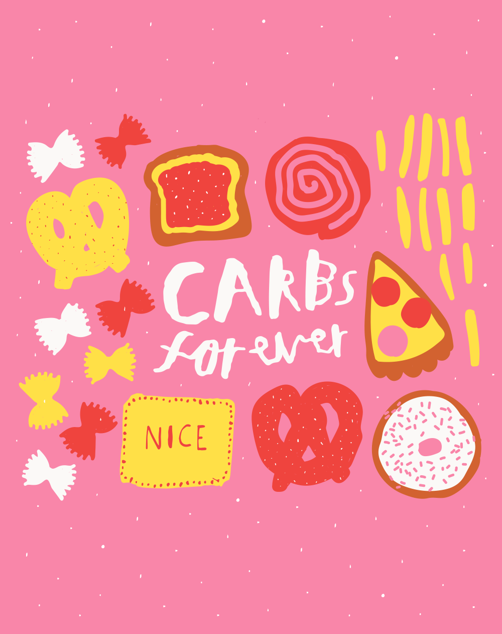 Carbs forever poster_Nikki Miles.png