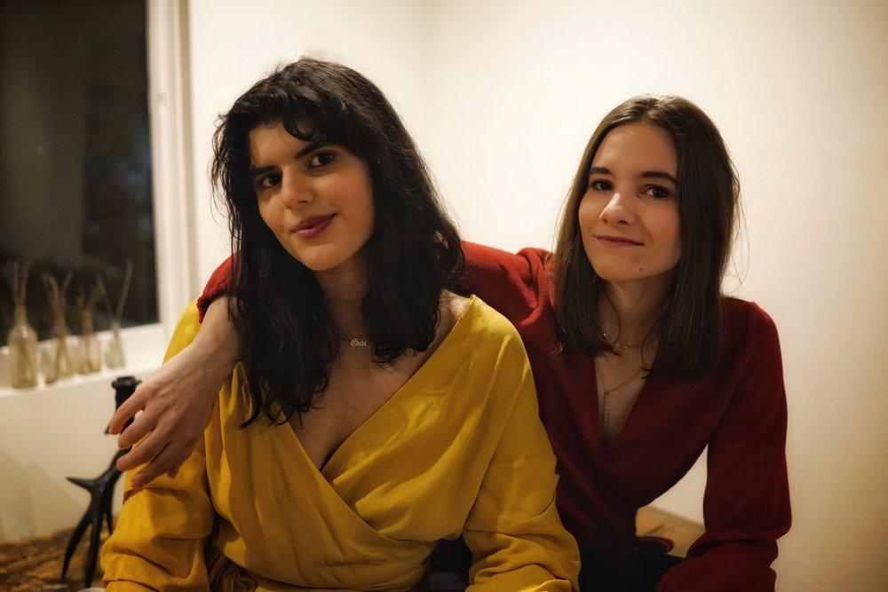 Gabriella Vigoreaux and Diana Fertitta