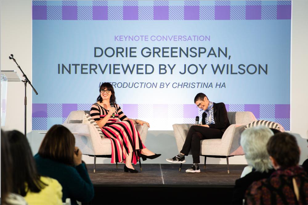 Joy Wilson and Dorie Greenspan