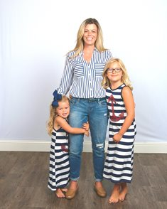 Karin with her two daughters