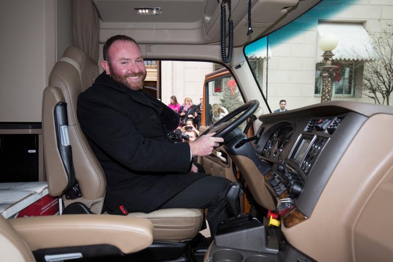 Troy Davidson, 2016 winner of Transition Trucking