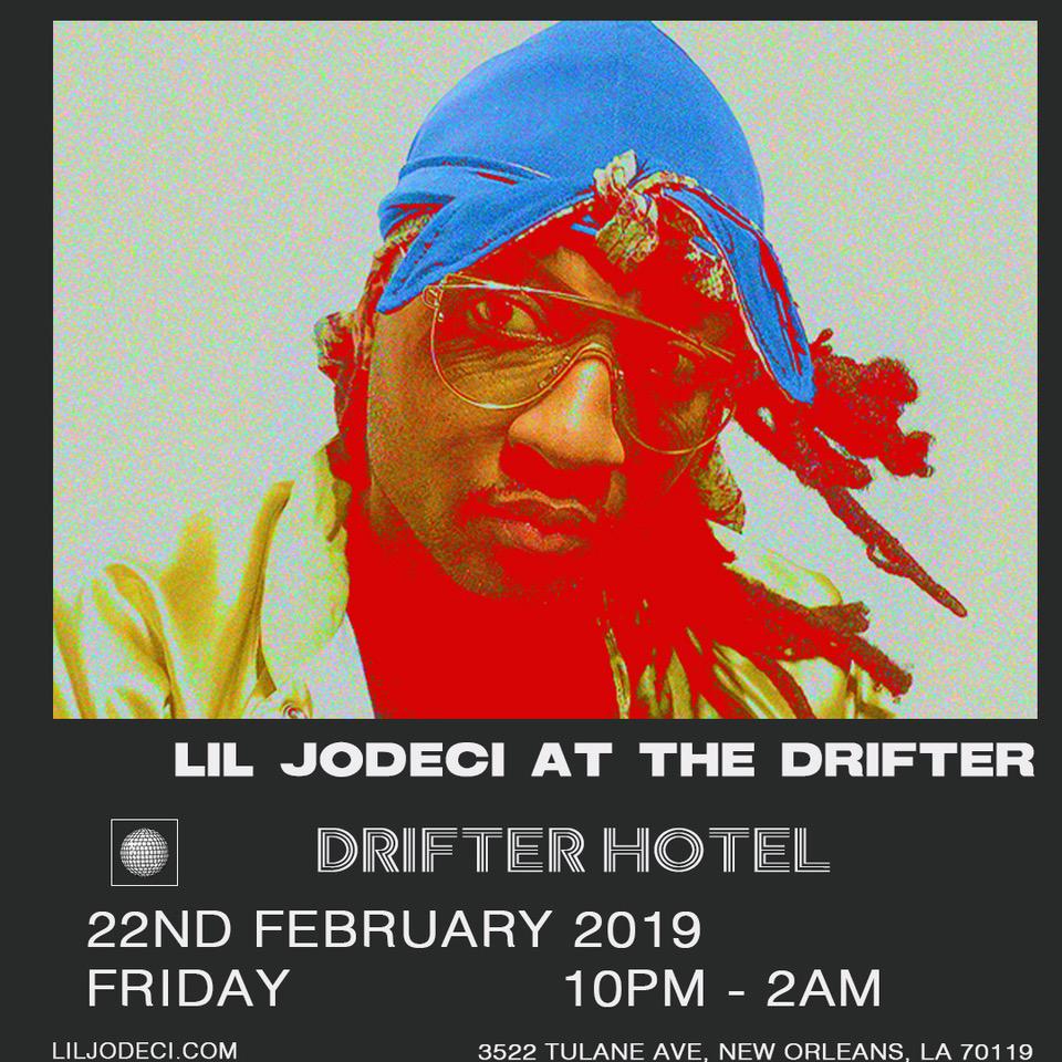 Jodeci Tour 2020 Lil Jodeci at The Drifter Hotel — The Drifter