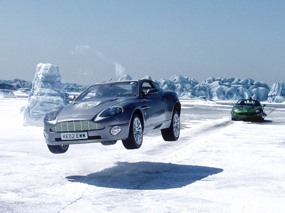 Here is the scene from Die Another Day - pretty cool, right?