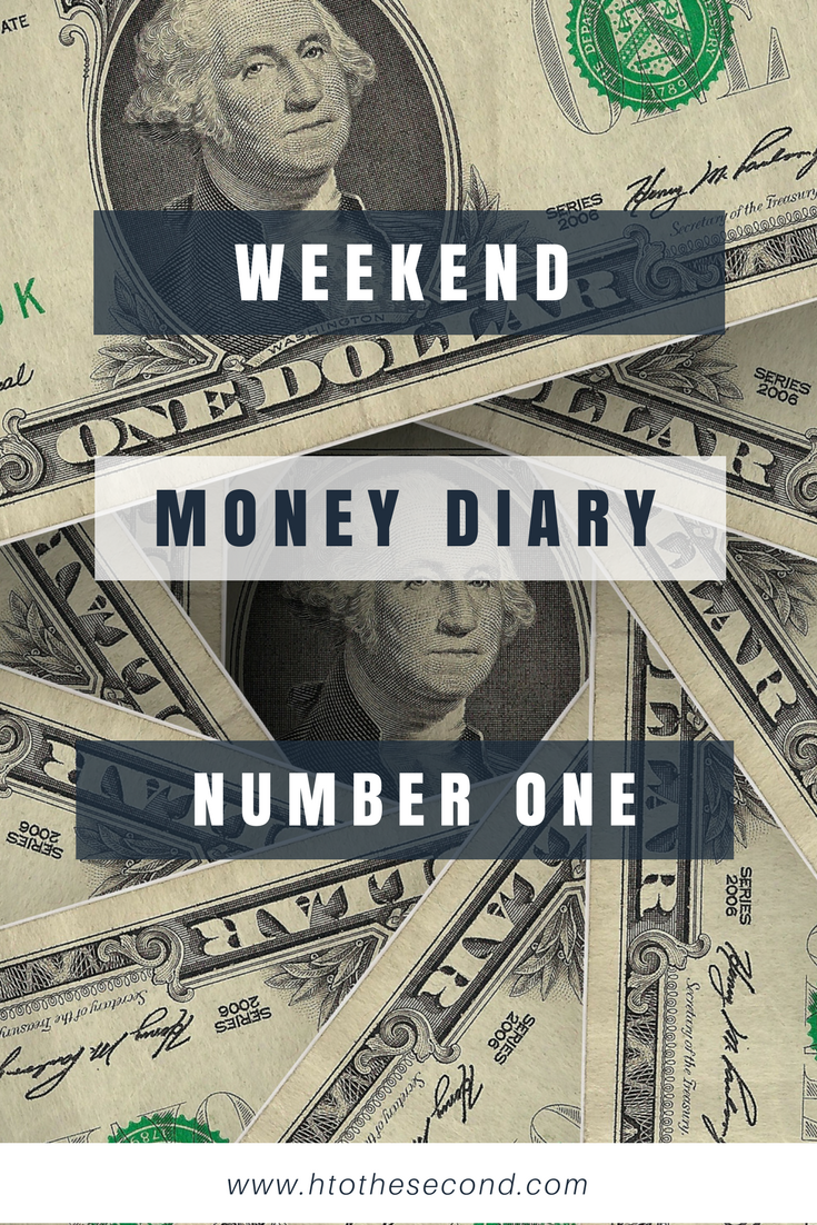 Weekend Money Diary #1