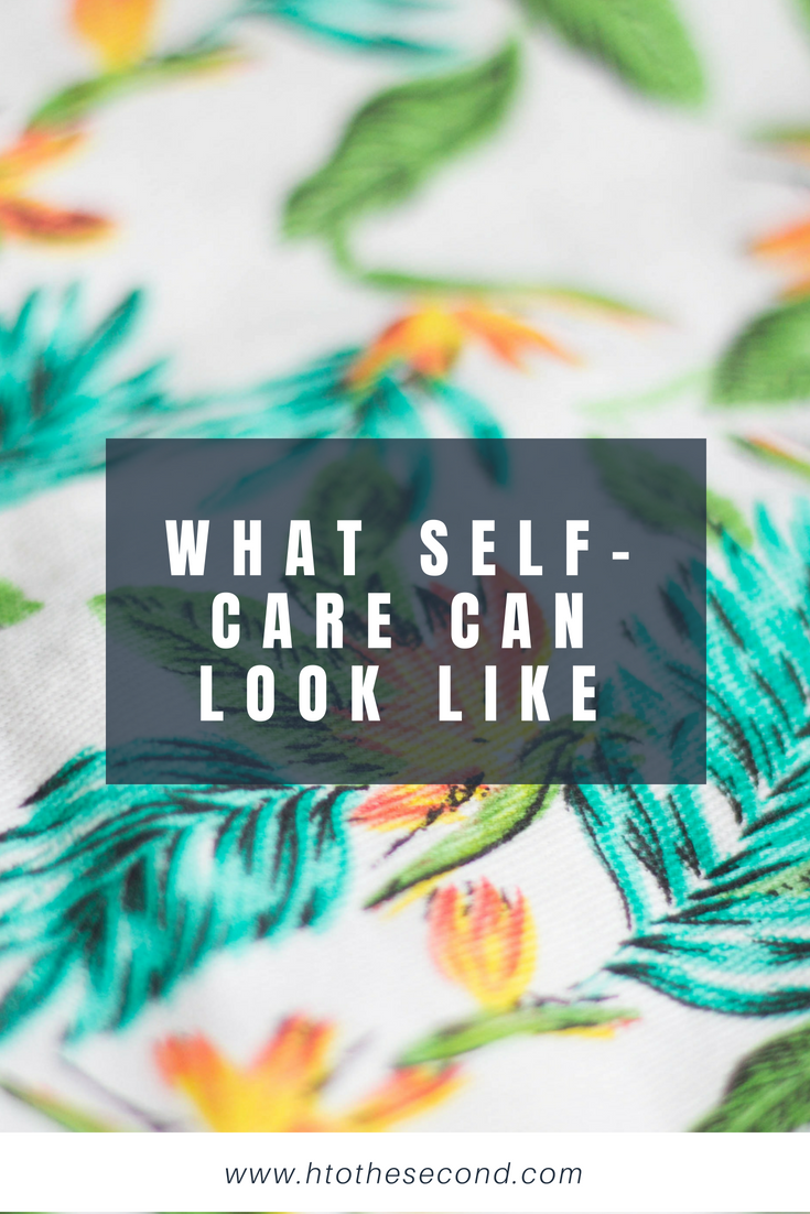 What Self-Care Can Look Like