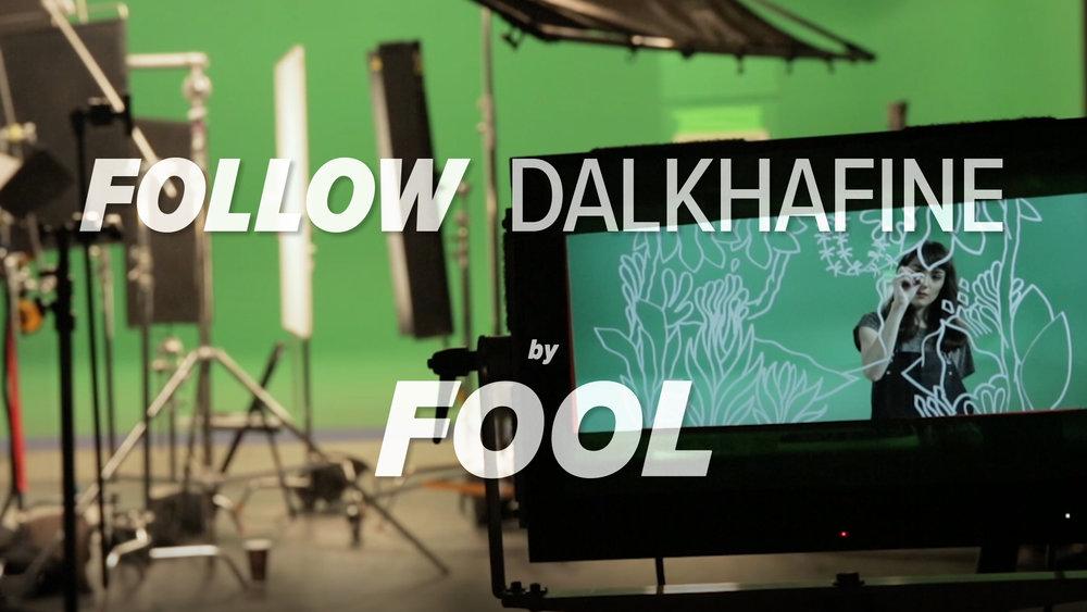 FOLLOW x DALKHAFINE.