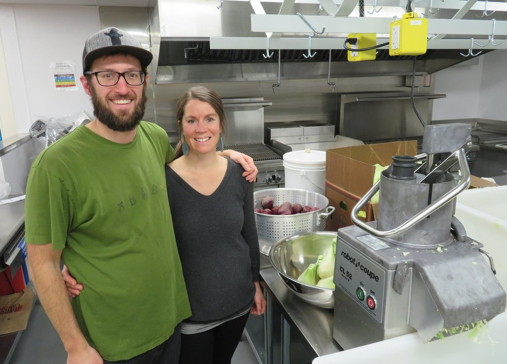 Bend entrepreneurial couple serves up sweet success...with sauerkraut - A couple in Bend have turned their passion for fermentation into a new business. KLCC's Brian Bull visits the founders of Local Culture, a pair of teachers that are enjoying sweet success with sauerkraut.