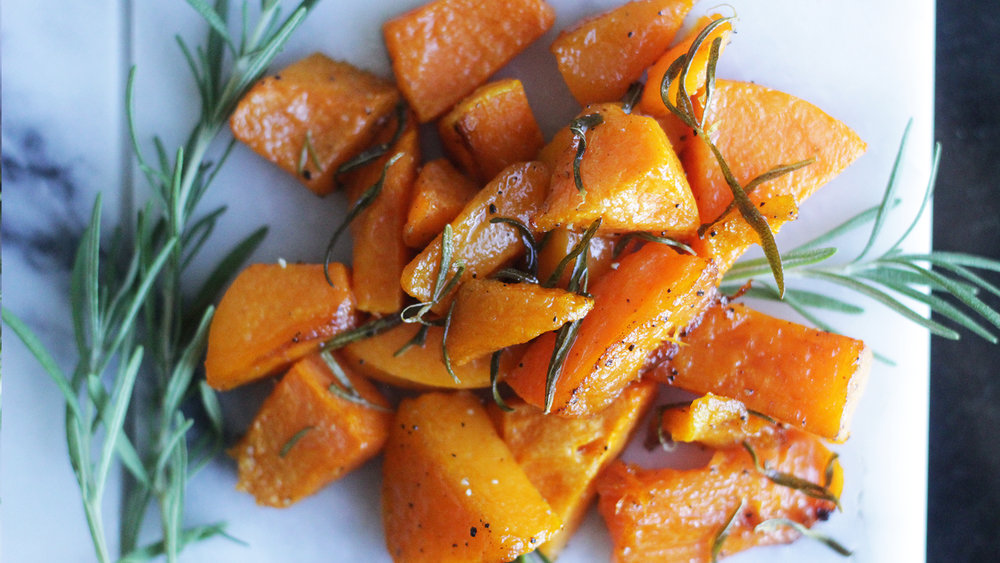 Roasted Butternut Squash - The new pumpkin.Click on the image for the full recipe!