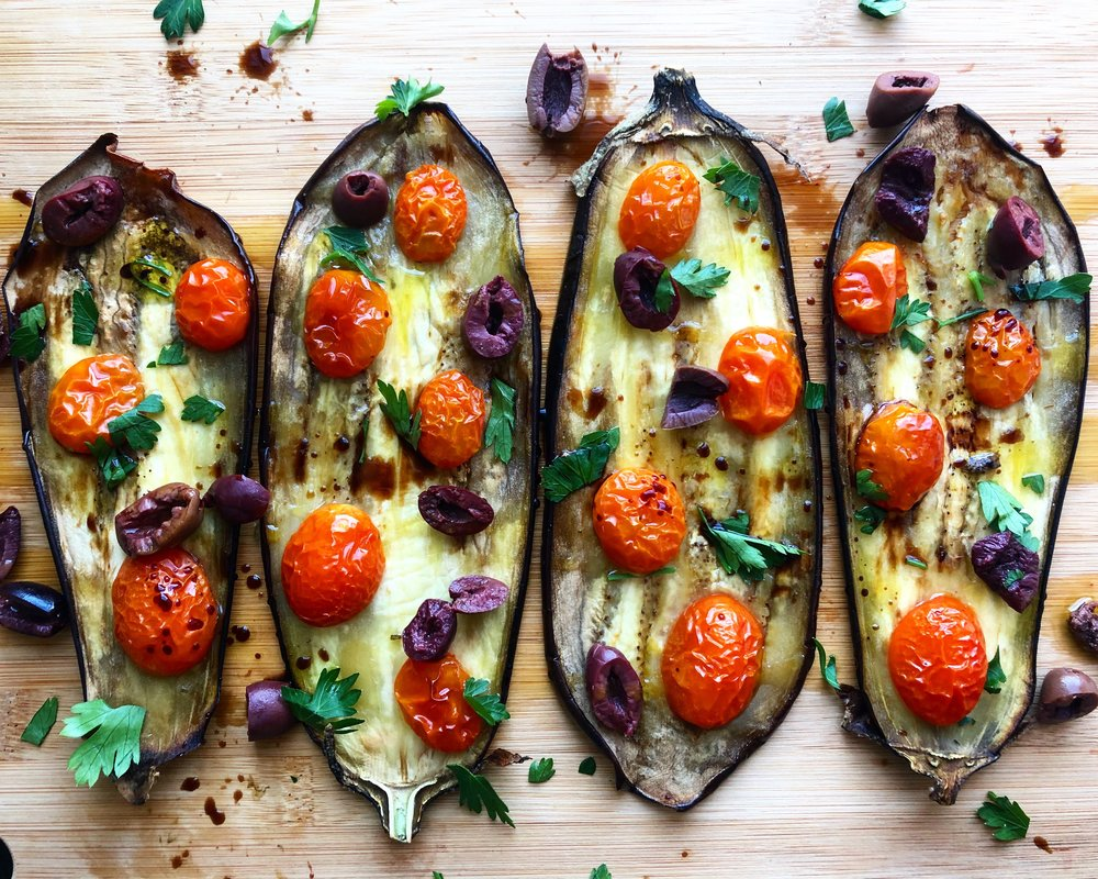 Oven-Roasted Eggplant - Ohhhh, yeah.