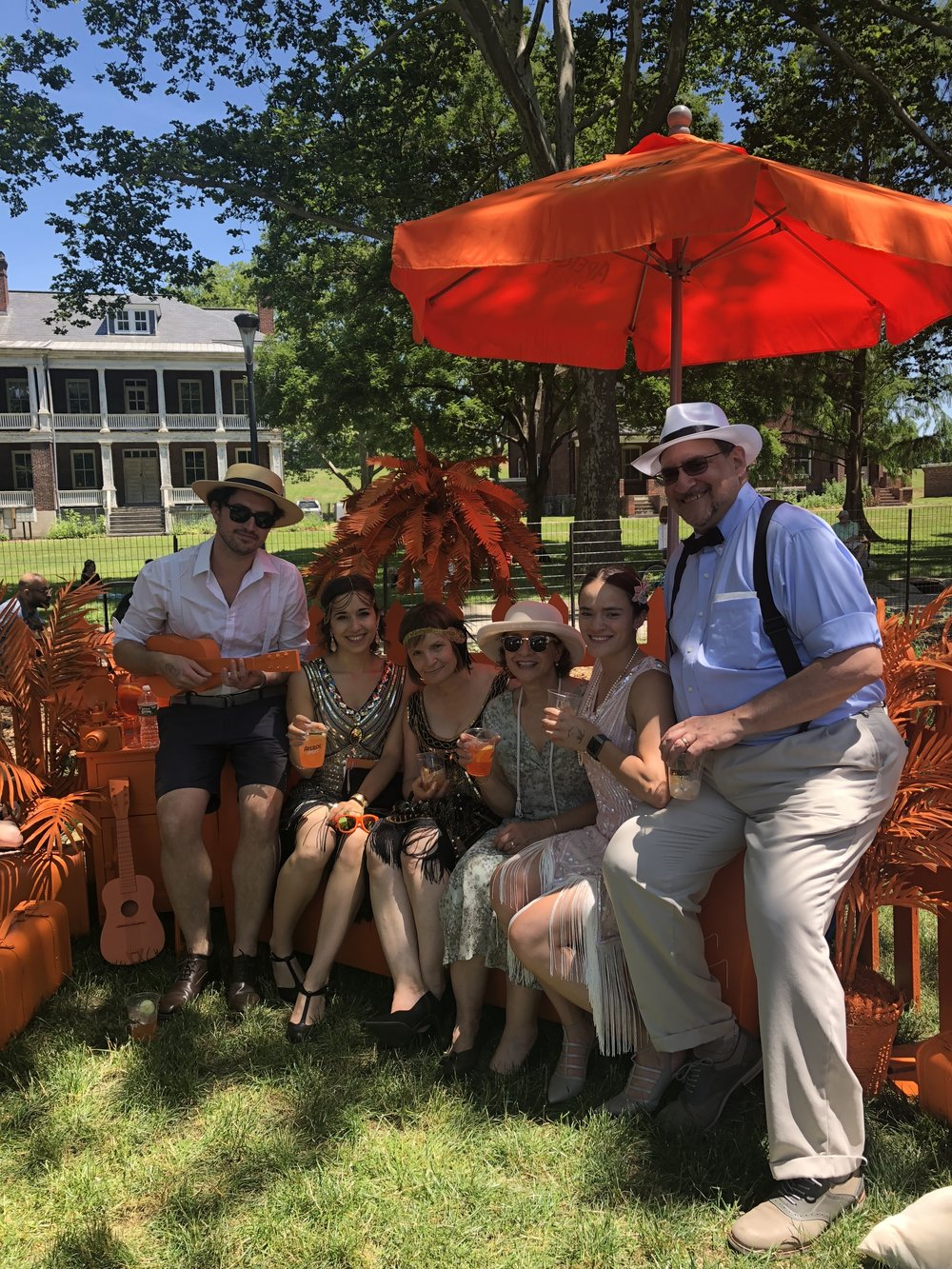 18 June 2018 - Jazz Age Lawn Party (one of my favorite days of the year)