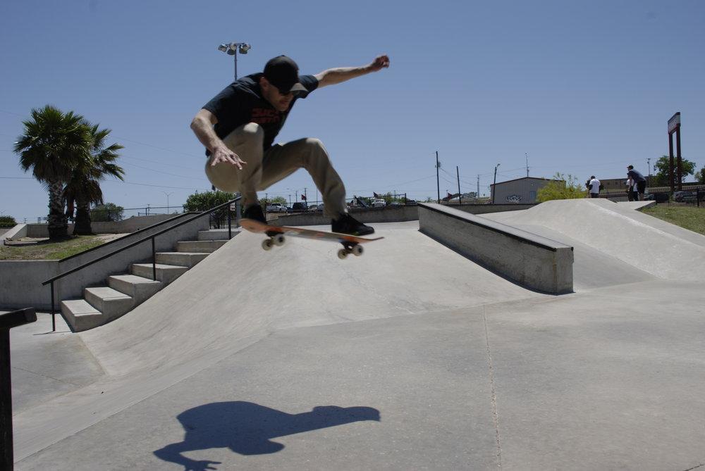 Matt getting some air.