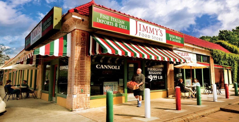 Jimmy's (Dallas, TX) is the sort of walkable neighborhood store that many of today's neighborhoods make impossible.