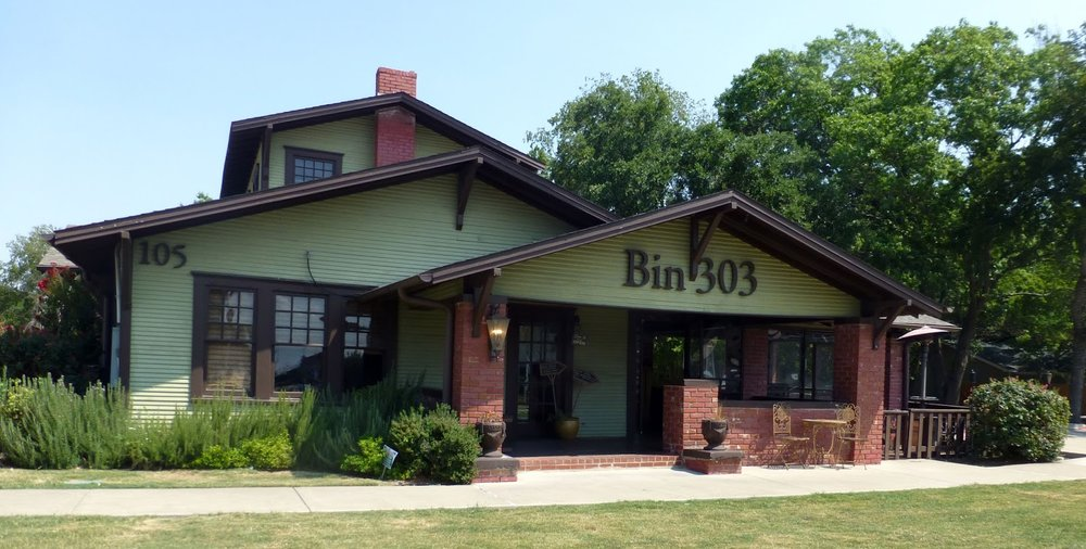 Bin 303 is one of my favorite restaurants in my home town. Nothing cookie cutter about this place - from the building design to the owners to the menu. Try the Texican burger!