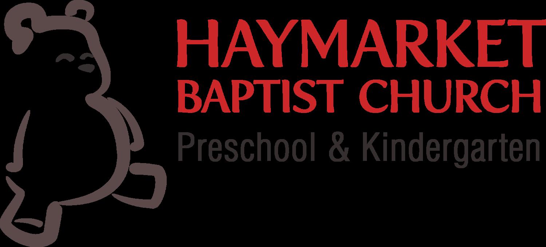 Preschool Curriculum — Haymarket Baptist Church Preschool & Kindergarten