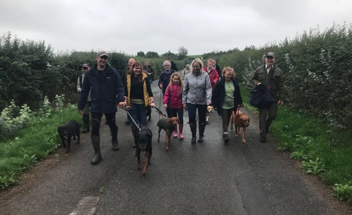 Our monthly dog walking morning is back for our Christmas dog walk on Sunday 16th December.  While it is a Christmas walk please feel free to dress your dog (and you too) up. There will be a prize for best dressed dog.  Starting at the pub at 10am we will go on an easy 5 mile (ish) circular walk back to the pub, with winter here we would advise you wear wellies or other suitable footwear, be aware there may be stiles we need to go over. Everyone welcome, with or without a pooch.