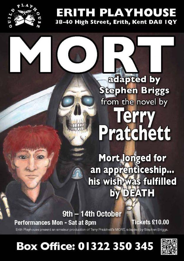 'Mort' @ Erith Playhouse - Dress rehearsal photos of Erith Playhouse's amateur dramatics company production of Terry Pratchett's 'Mort'.