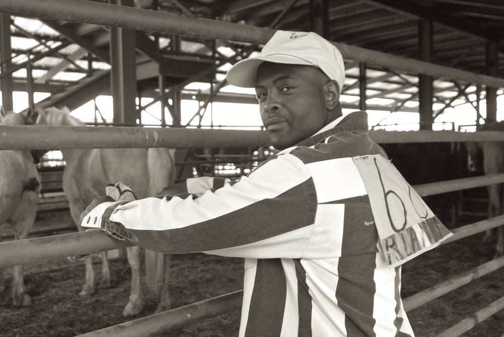 A prisoner poses at the Angola Prison Rodeo, in Louisiana.  Image by New Orleans based travel photographer, Marc Pagani - marcpagani.com