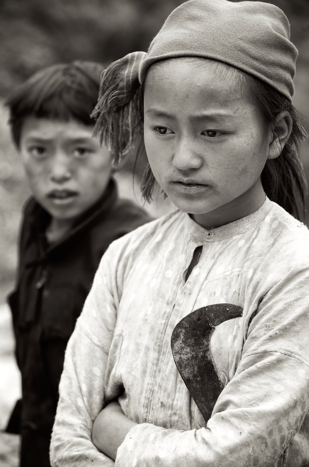 young medicine gatherers in northeastern Vietnam. Image by New Orleans based travel photographer, Marc Pagani - marcpagani.com