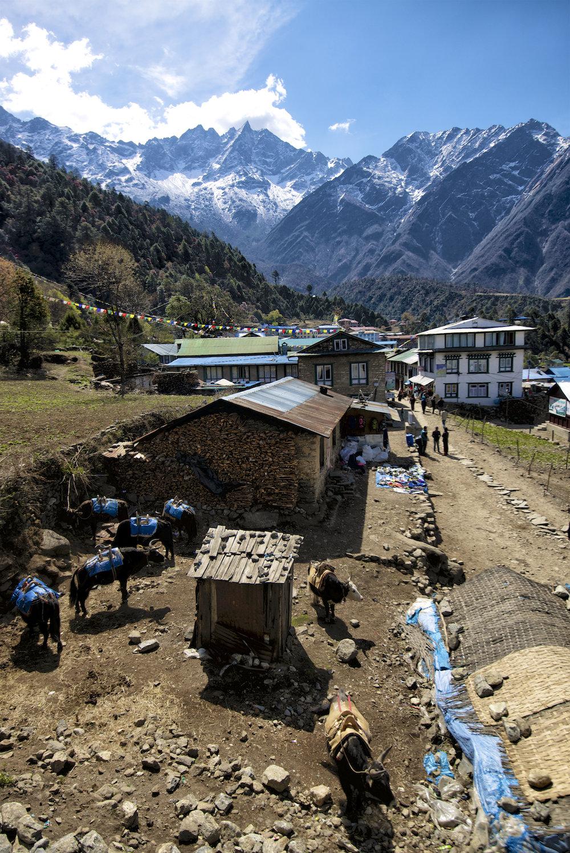 Lukla, Nepal.  Image by New Orleans based travel photographer, Marc Pagani - marcpagani.com